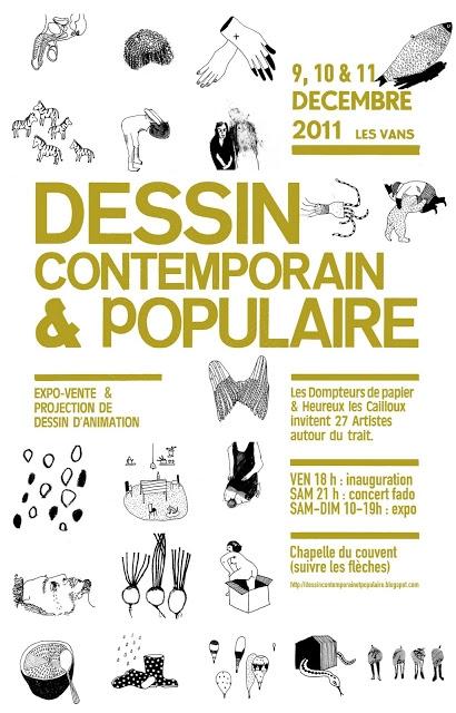 Dessin contemporain & populaire / 2011