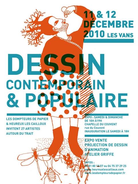 Dessin contemporain & populaire / 2010