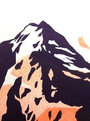 grande montagne détail