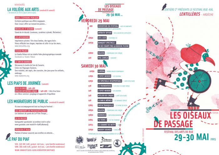 programme oiseaux 2015