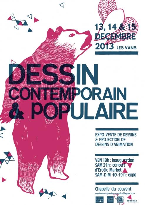 Dessin contemporain & populaire / 2013