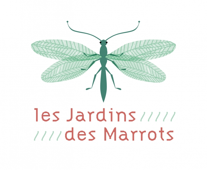 jardins des marrots - logo