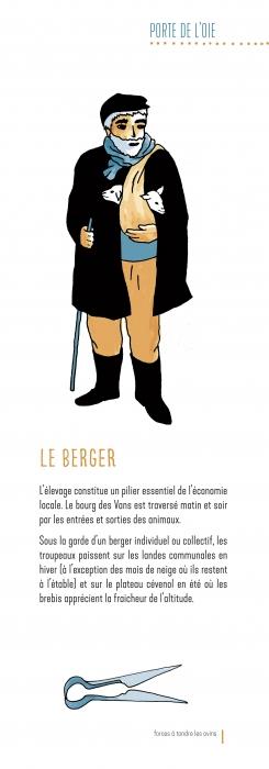 personnages historiques les vans - berger