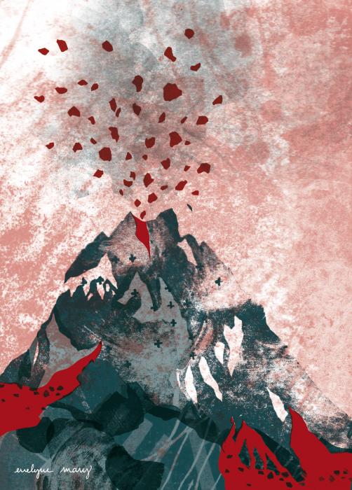 géologie imaginaire de l'ardèche - volcanisme