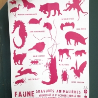 invitation faune & gravure - douai