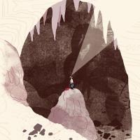 sentier géologique cirques de Naves - grotte de Champclos